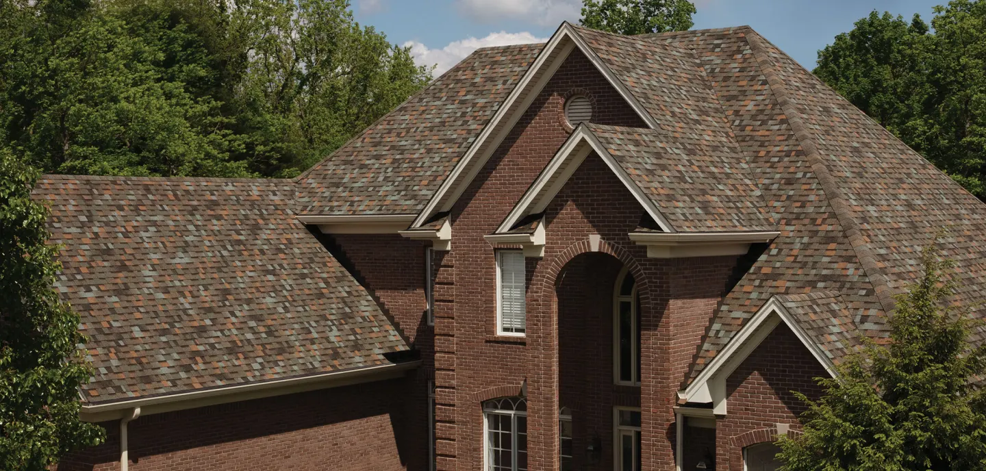 Owens Corning Aged Copper House Residential Roofing Banner