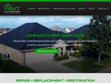 MINT Exteriors Launches Website