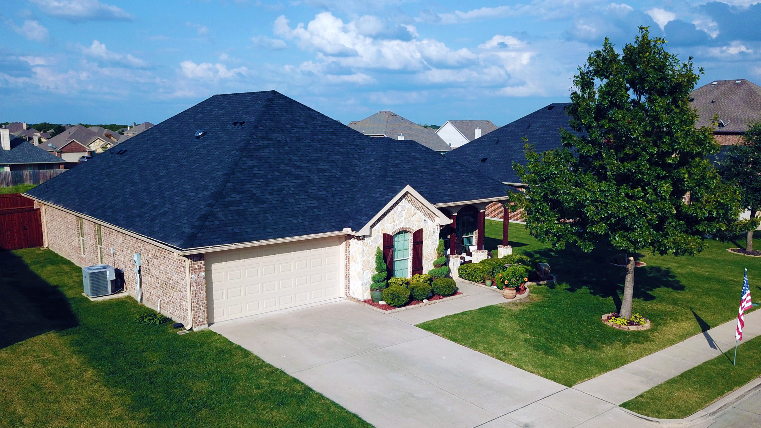 MINT Exteriors Roofing Home Hero